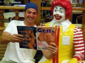 Ronald McDonald Does It Again