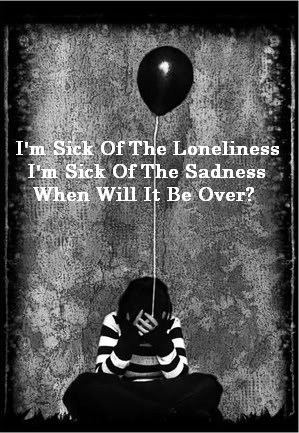 Sad Quotes About Loneliness Dark sad lonely quotes