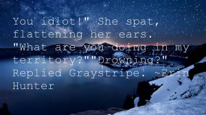 Top Quotes About Graystripe