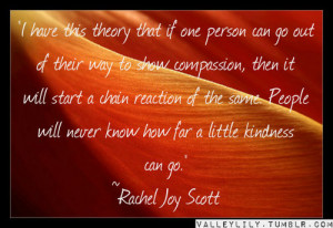 Rachel Scott Quotes http://www.tumblr.com/tagged/rachel%20joy%20scott ...
