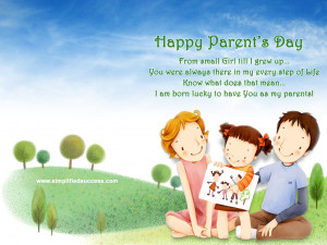 10 Parents Day Quotes Messages Cards 2014