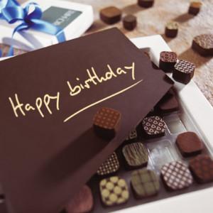 Happy Birthday! -- Chocolate