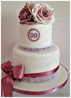 80th Birthday cakes on Pinterest   80th Birthday Cakes, 60th ...