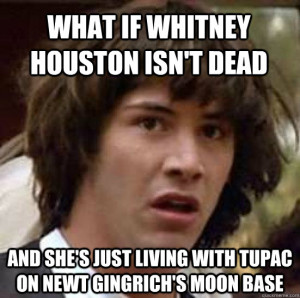 Whitney Houston Dead Meme