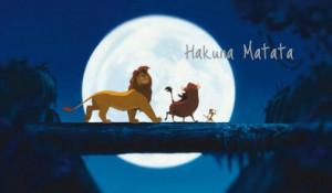 The Lion King – Hakuna Matata