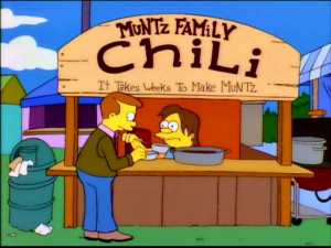 simpsons chili cook off quotes