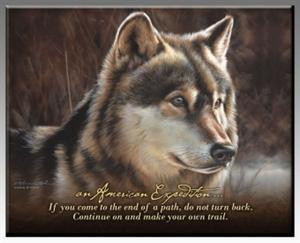 sign in view cart wolf newsletter gray wolf inspirational plaque
