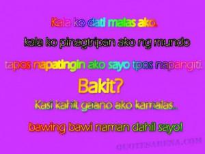 Super cheesy tagalog love quotes
