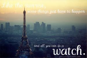 quotes,eiffel,tower,france,paris,quote,sunrise ...