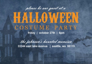 Halloween party invitation by PurpleTrail.