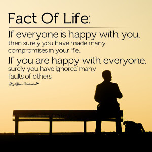 Life Quotes - Fact Of Life