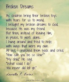 Broken Dreams Quotes Tumblr ~ Quotes and Poems on Pinterest   41 Pins