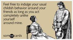 Childish Behavior