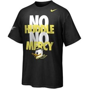 Nike Oregon Ducks Football No Huddle No Mercy T Shirt NWT WTD PUDDLES ...