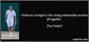 Relationship Strength Quotes