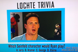What Ryan Lochte Actually Did on What Would Ryan Lochte Do? , Week Two