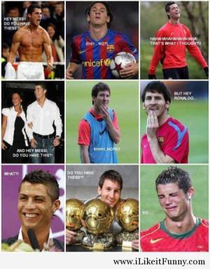 Funny-football-soccer-meme-messi-ronaldo-tease