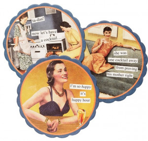 Happy Hour Coasters eclectic-coasters