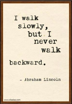 Inspirational Thoughts by Abraham Lincoln