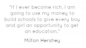... boy and girl an opportunity to get an education.