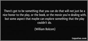 More William Bolcom Quotes