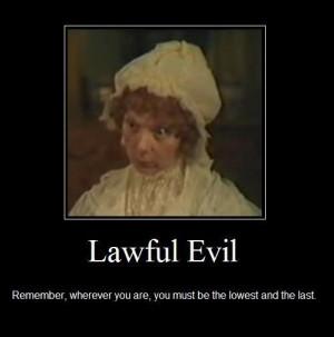 Lawful Evil /Mrs Norris (Anna Massey, 1983)