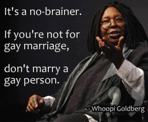 Whoopi Goldberg Gay Marriage