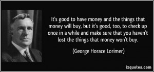 More George Horace Lorimer Quotes