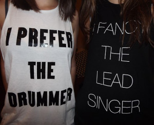 swag # lead singer # drummer # fancy the lead singer # i prefer the ...