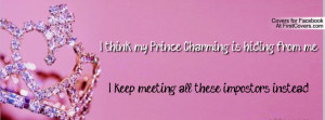 prince charming Profile Facebook Covers