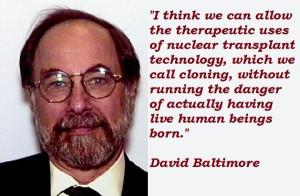 David baltimore famous quotes 4