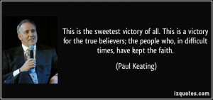 More Paul Keating Quotes