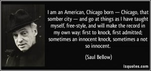 Quotes by Saul Bellow