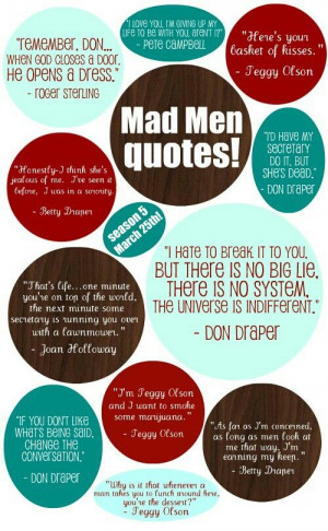 Mad Men Quotes