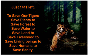SAVE OUR TIGERS Campaign Corrected
