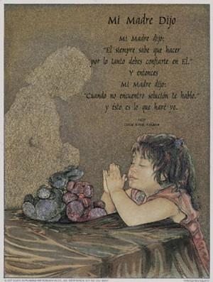 inspirational quotes, quotations, rachel maurer - mommy said (spanish ...