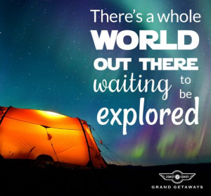 Get out there and start exploring! #travel #quote #explorer