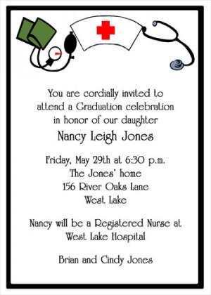 Nurse Graduation Invitation Cards areBecoming Very Popular!