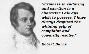 Robert Burns's quote #1