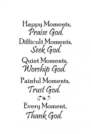 ... God - Painful Moments, Trust God - Every Moment, Thank God Vinyl