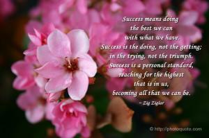Sayings, Quotes: Zig Ziglar