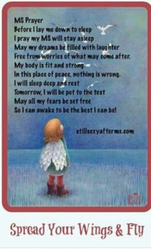 multiple sclerosis prayer