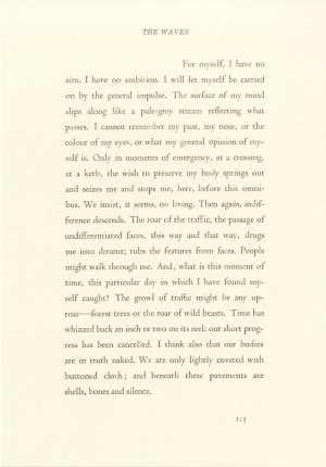 virginia woolf excerpt Which excerpt from virginia woolf's a room of one's own contains an allusion a) she looked at the stage door she wanted to act, she said.