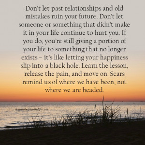 Lessons Learned in Life | Don't ruin your future.