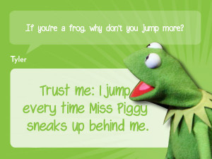 Wanted, The Muppet Movie, The Muppets, Kermit the Frog, Miss Piggy