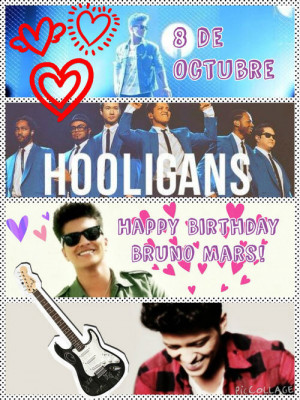 Happy B day 29 Bruno Mars