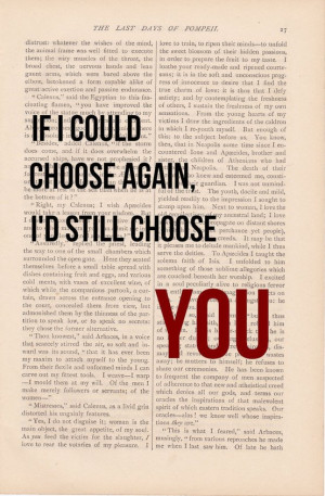 ... Choose Again, I'd Still Choose YOU print – vintage love quotes