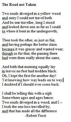 Famous poem