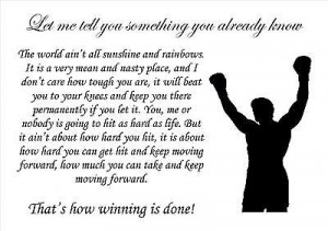 Rocky Boxing Inspirational...
