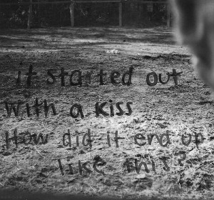 lyrics, mr. brightside, quotes, song, text, the killers, typography